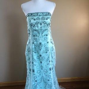 De Bara Rachelle Couture   Mint Formal Gown  16
